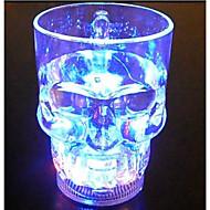 lygf iluminação led copo 400ml crânio, brinquedos da moda presentes criativos