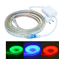 jiawen 200CM Waterproof  12W  120-5050SMD 8-Mode  RGB LED Flexible Light Strip (AC110~220V)