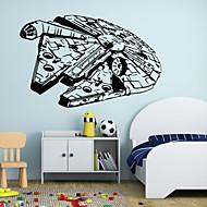 Moda / İnsanlar / Fantezi Duvar Etiketler Uçak Duvar Çıkartmaları , Vinyl stickers 88*57cm