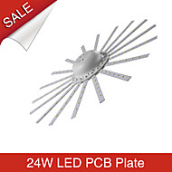 8A Lighting 24W Sun Flower Shaped 120xSMD2835 2400LM 2800-6500K Led Ceiling Lights PCB Plate AC180-265V
