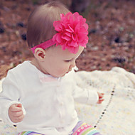 Kid's Big Flowers Bow Headband Random Color(3 Month-3Years Old)