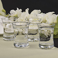 Blyfritt Glass Riste Fløyter - 12 Piece / Set