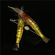 """10 ks Měkké návnady různé barvy 6 g/1/4 Unce,100 mm/4"""" palec,Měkký plastMořský rybolov / Bait Casting / Rybaření v ledu / Spinning /"""