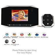 Bezdrátový - Hands-free - Dveřní videotelefon jedna ku jedné ( 3,5 inch, Vyfotografováno )
