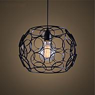 E27 220V 28*21CM 5-10㎡Creative Contracted Nordic, Wrought Iron Glass, Single Head Droplight  Lamp Led Light