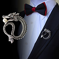 Vintage Arrogance Dragon Brooch