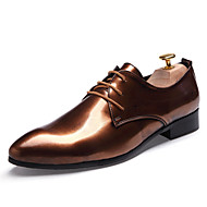 Men's Shoes Office & Career/Party & Evening/Wedding Fashion PU Leather Oxfords Shoes Multicolor 38-43