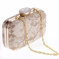 Women Bags All Seasons Polyester Evening Bag with for Wedding Event/Party Formal Office & Career White Black Champagne