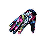 כפפות כפפות ספורט/ פעילות לנשים לגברים כפפות רכיבה אביב סתיו חורף כפפות אופנייםשמור על חום הגוף נגד החלקה עמיד בפני שחיקה עמיד לאולטרה