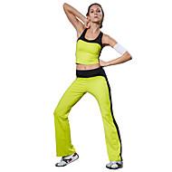 Corrida Conjuntos de Roupas/Ternos / Calças Mulheres Sem Mangas Alta Respirabilidade (>15,001g) / Compressão / Enchimento Removível