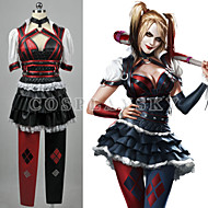Inspired by Cosplay Cosplay Video Game Cosplay Costumes Cosplay Suits Color Block Short Sleeve Top / Skirt / More Accessories