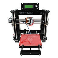 geeetech acryl mendel i3 3d printer support abs / pla / flexibele pla / hout / nylon gratis pla 1.75mm filament 0.3mm nozzle