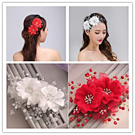 Pearl Flower for Hair Jewelry Fascinators Wedding Party Decoration