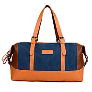 Mujer Lienzo Casual / Exterior Bolso de Hombro / Tote / Bolso de Viaje / Equipaje de Mano / Bolsa de Almacenamiento Azul / Negro / Caqui