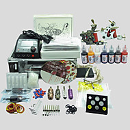 BaseKey Tattoo Kit 221 2 Machines With Power Supply Grips Cups Needles(Ink not included)