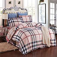 jet yuxin®advanced lijado 4 pieza kit gruesa ropa de cama edredón de algodón de algodón / reina / rey / c-rey completo juego de cama