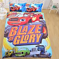 vuodevaatteet Blaze ja hirviö koneiden päiväpeite tavallinen painettu kodintekstiilit kotiin arkki twin täynnä kuningatar