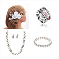 Wedding Suit(Headdress & Necklace & Earrings & Bracelet & Ring)
