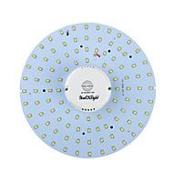 youoklight® 19 w 1700lm 3000 / 6000K 100-smd2835 bílé světlo / teplá bílá vedl tělo indukce stropní svítidlo (ac90-265v)