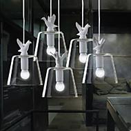 40W Lámparas Colgantes ,  Moderno / Contemporáneo Pintura Característica for LED MetalSala de estar / Dormitorio / Comedor / Habitación