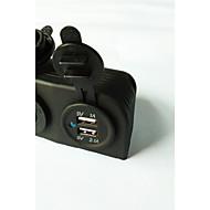 lossmann二重USB車の充電器の電源アダプタと電源ソケット