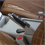 uuden auton käsijarru kahvat musta ABS + tekojalokivi käsijarru kansi koriste