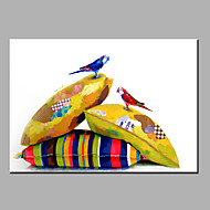 Ручная роспись ЖивотноеModern 1 панель Холст Hang-роспись маслом For Украшение дома