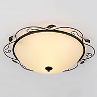 מודרני / חדיש / מסורתי/ קלאסי / סגנון חלוד/בקתה / Tiffany / גס / וינטאג' / רטרו / מנורה LED זכוכית צמודי תקרהחדר שינה / חדר אוכל / מטבח /