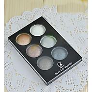 New LOVE ALPHA® 6 Eyeshadow Dry Eyeshadow Palette Powder Normal 1Pc