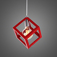 5-15W Pendant Light ,  Traditional/Classic Painting Feature for Mini Style MetalLiving Room / Bedroom / Dining Room / Kitchen / Study