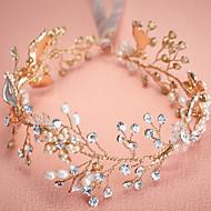 Women's Pearl / Rhinestone / Alloy Flower Headpiece - Wedding / Special Occasion Headbands 1 Piece Sale
