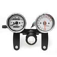 οδόμετρο μοτοσικλέτα μετρητής ταχύμετρο ταχύμετρο με μαύρο στήριγμα