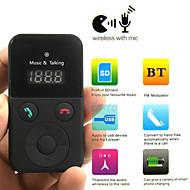 Car Kit Freisprecheinrichtung Bluetooth drahtloser FM Übermittler USB-Sd lcd remote mp3 mit mic