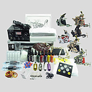 6 Machines BaseKey Tattoo Kit K605 Machine With Power Supply Grips Cups Needles(Ink not included)