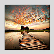 Oil Paintings Modern Landscape  Canvas Material With Wooden Stretcher Ready To Hang Size 70*70CM