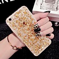 iphone 7プラスファッションの豪華な輝き光沢のある作品は6プラス6S iphone用のソフトケースをTPU