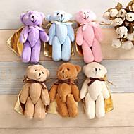 Geschenktaschen ( Perlenrosa / Schokolade / Braun / Lila / Rosa / Blau / Weiß , Baumwolle ) - Nicht personalisiert -Hochzeit / Jubliläum