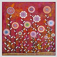 Botanisk Canvastryck En panel Redo att hänga , Andra