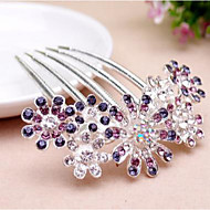 Z&X® Fashion Alloy Hair Combs Wedding / Rhinestone Party / Daily 1pc