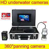 어군 탐지기 수중 카메라 광각 수중 낚시 카메라 DVR 기능을보고, 카메라를 패닝 360