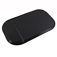 ziqiao bil instrumentbræt klæbrig pad mat anti skridsikker gadget mobiltelefon gps indehaveren tilbehør (tilfældige farver)
