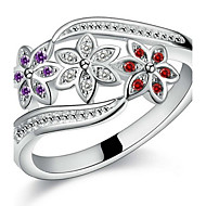 Ring Wedding / Party / Daily Jewelry Sterling Silver Women / Men / Couples Couple Rings 1pc,7 / 8 / 9 Silver