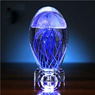 Sevgililer Günü denizanası kızdırma top kristal küçük gece hafif müzik kutusu yaratıcı hediye ışık lamba led