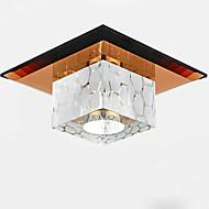 10CM Mini Crystal Ceiling Lamp Spotlight LED 3W Creative Lamp Tube Light Colorful Color Square Dome Light