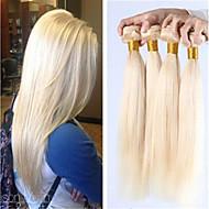 hårprodukter brasilianska jungfru håret rakt 3st mycket 613 blond jungfru hår heta säljande platina blond väva