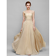 Lanting Bride® A-line Mother of the Bride Dress Floor-length Sleeveless Chiffon with Appliques