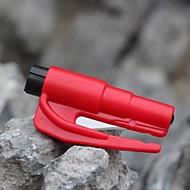2in1 Auto Sicherheitshammer mit Scheibenzertrümmerer und Gurtschneider schnelles Auto Flucht keychain Werkzeug