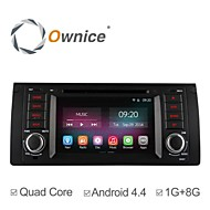 7 Inch 1 Din In-Dash Car DVD Player For BMW E39 E59 5 Series with Quad Core Pure Android 4.4.2 GPS Navigation Radio
