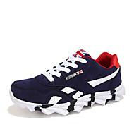 Zapatos de Hombre - Sneakers a la Moda - Oficina y Trabajo / Casual / Deporte - Semicuero - Negro / Azul / Rojo