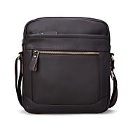 Men Cowhide Messenger Shoulder Bag / Mobile Phone Bag
